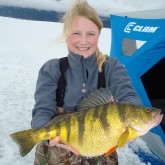Tia Weise World Record Yellow Perch